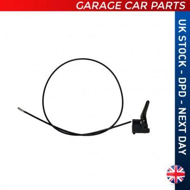 Bonnet Lock Release Cable Opel Kadett 1178442