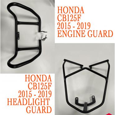 Engine Guard Crash Bar Protector fits Honda CB125F & CB150 2015-2020
