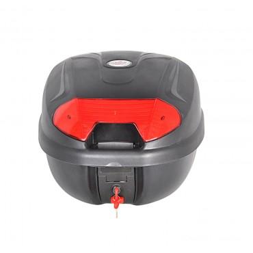 Motorcycle Universal Top Box 32L Heavy Duty XL fits One Full Face Helmet