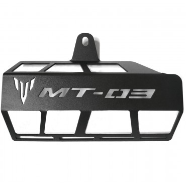 Exhaust Guard For Yamaha MT03 2015 - 2021 Next Day Delivery UK Stock