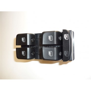 AUDI A4 A5 Q5 Electric Front Window Control Switch Button Black Driver Side 8KD 959 851