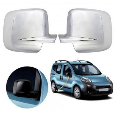 Citroen Nemo wing mirror cover cap chrome / Left&Right BA19LR