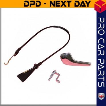Vauxhall Corsa D CHEVROLET Inner Door Handle Pin Connecting Rod Bracket Cable / FRONT LEFT