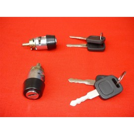 AUDI V8 80 100 COUPE CABRIOLET STEEARING IGNITION SWICH BARREL LOCK WITH KEYS 4A1905855