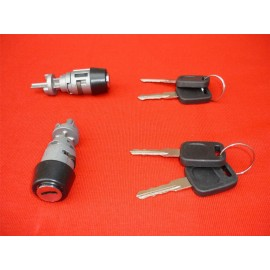 AUDI V8 80 100 COUPE CABRIOLET STEEARING IGNITION SWITCH BARREL LOCK WITH KEYS 4A1905855