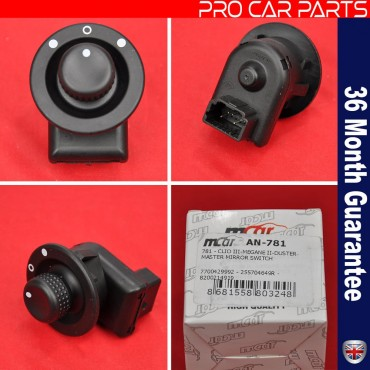 Mirror Adjustment Switch Renault - Free Shipping
