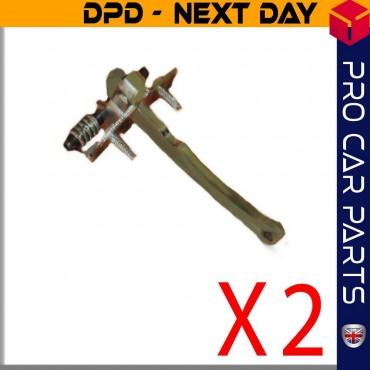 2 X Front Door Check Ass Hinge Stopper Arm Bracket For PEUGEOT 306 MK2 CABRIOLET 9181.73