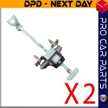 2 X Front Door Check Ass Hinge Stopper  Vauxhall  Vectra C Signum 5160229 / 9229749
