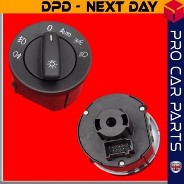 Headlight Fog Lamp Switch Volkswagen Caddy III 2004-2015 1K0941431N