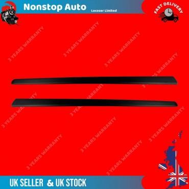 2X Door Moulding Trim Strap Fiat 500 2009-2017 735488137